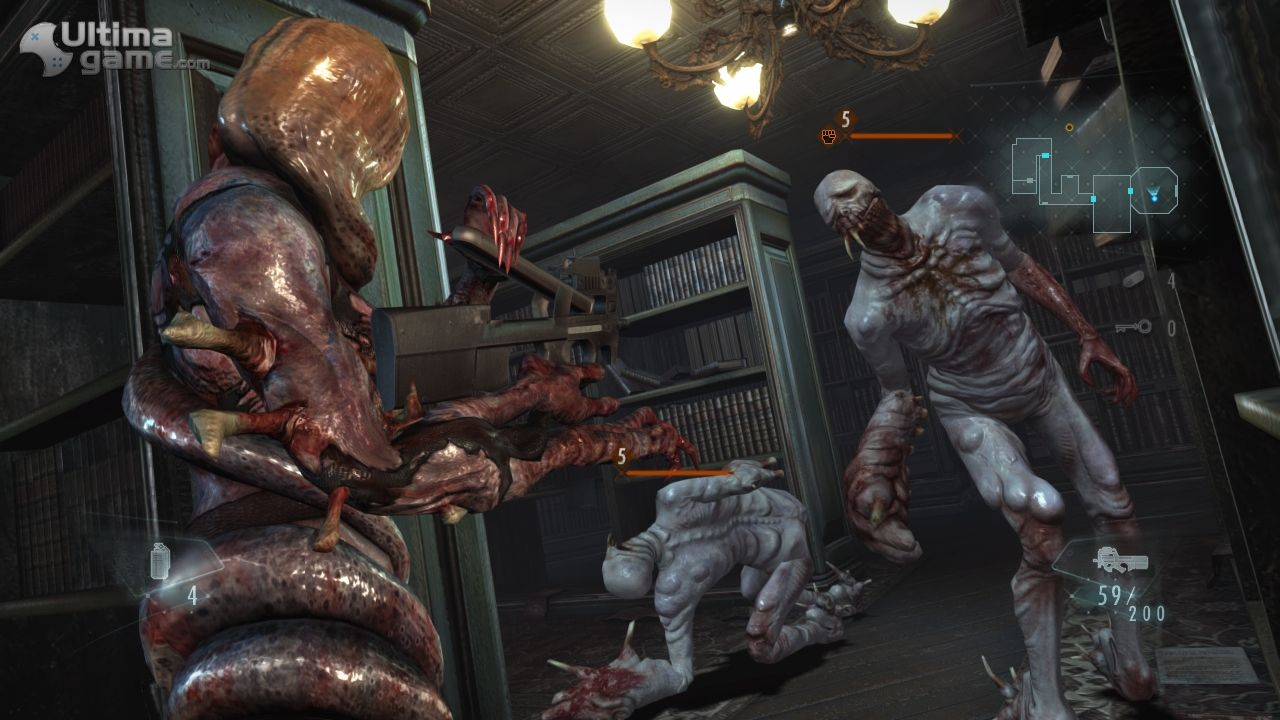 Imágenes de Resident Evil Revelations: Lady Hunk y Ooze Rachel, dos