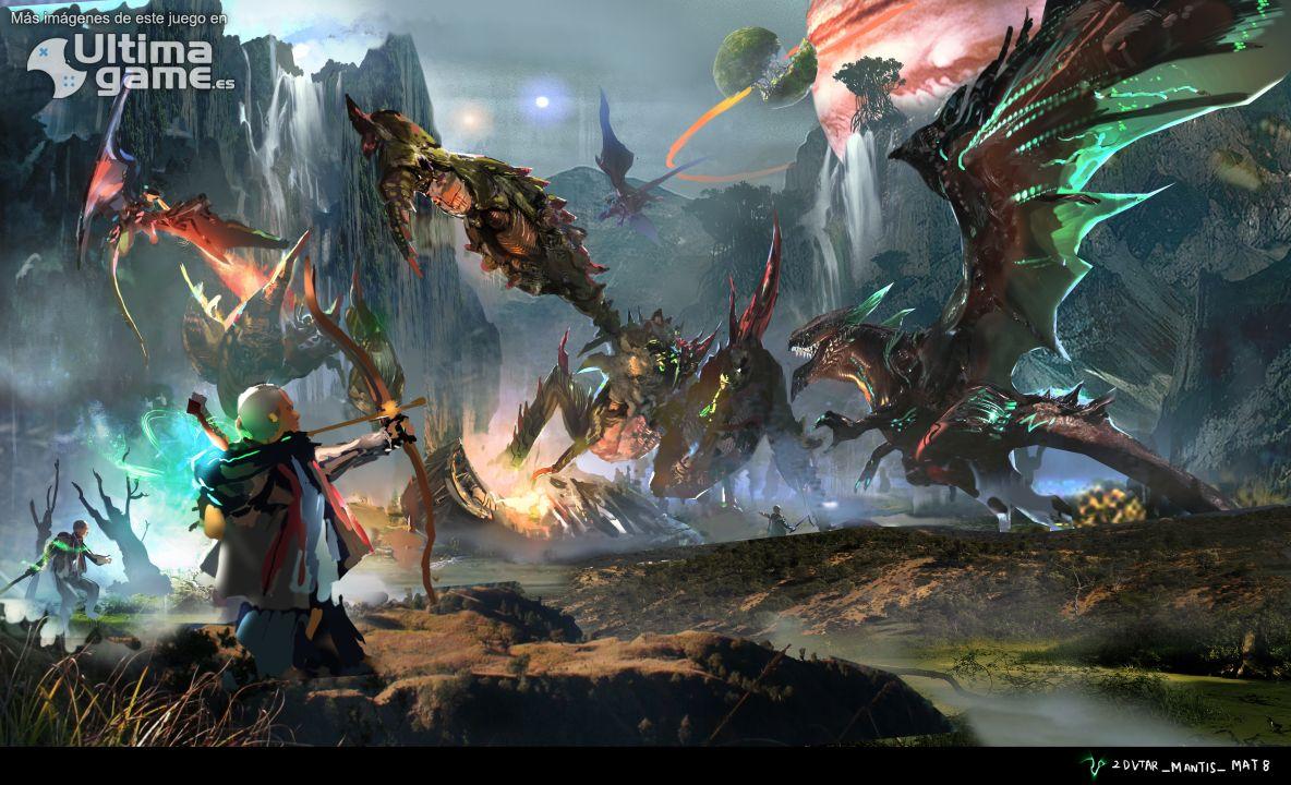 Imágenes de Scalebound: Nuevas armas y enemigos confirmados para Scalebound