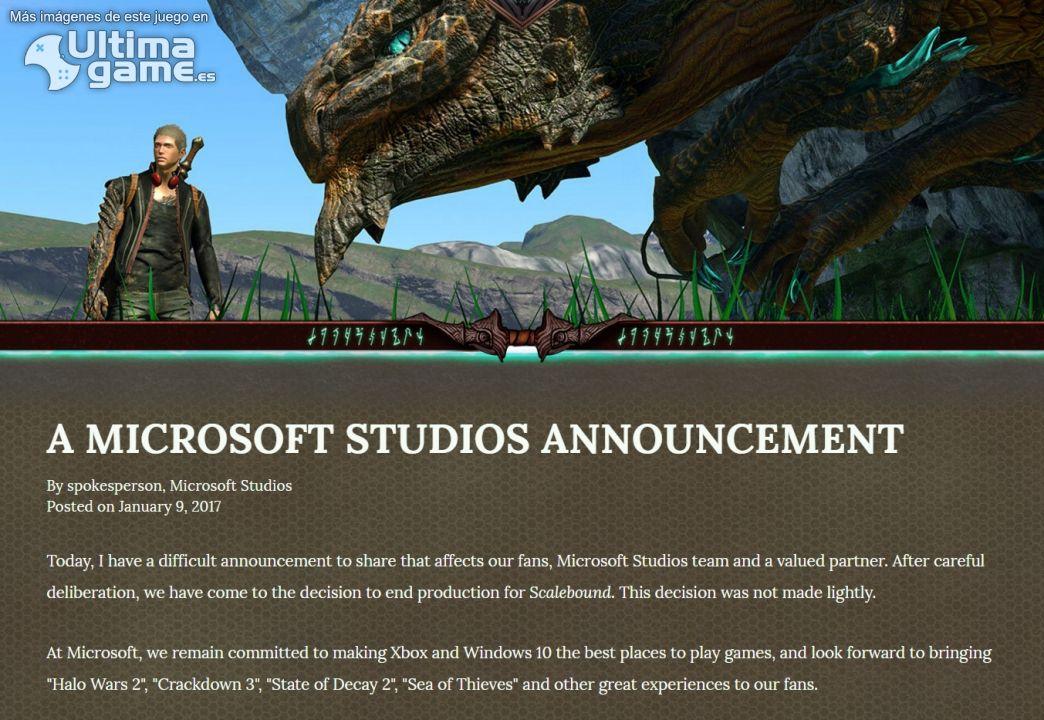 Imágenes de Scalebound: Microsoft Games Studio cancela oficialmente Scalebound