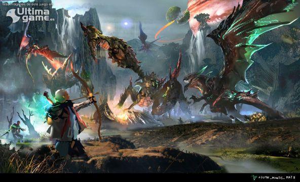 El dragón de Scalebound se retrasa hasta 2017