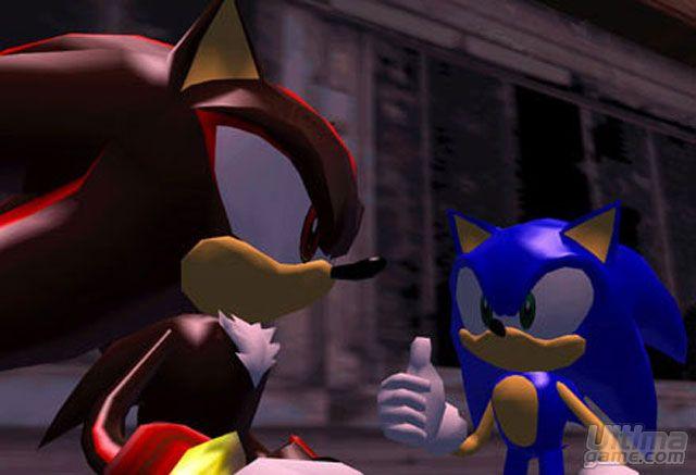 de Shadow the Hedgehog: Sonic hace acto de presencia en Shadow