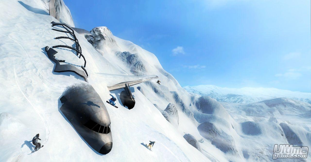Im�genes de Shaun White Snowboarding: Descubre las ventajas de Shaun White Snowboarding en Xbox 360, PS3 y PC para competir con el control de Wii