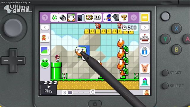 Así son los retos por medallas de Super Mario Maker en 3DS