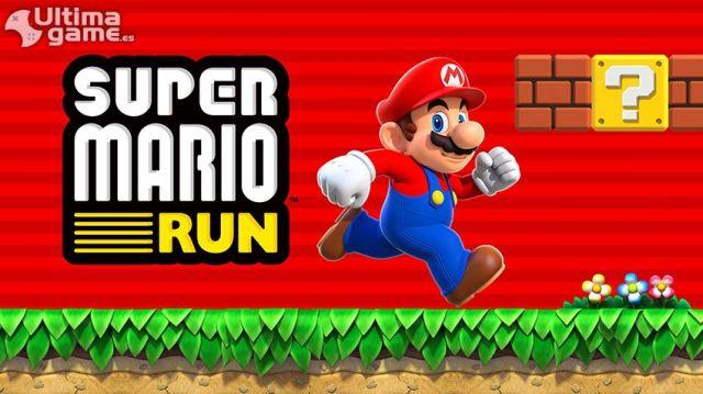 Mario nos muestra sus mejores saltos en nuestro móvil