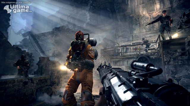 Extermina a los nazis-zombies en Wolfenstein: The Old Blood